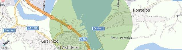 Mapa El Astillero