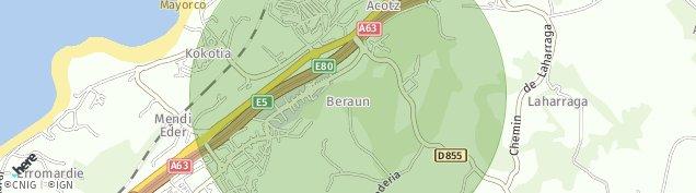 Carte de Guéthary