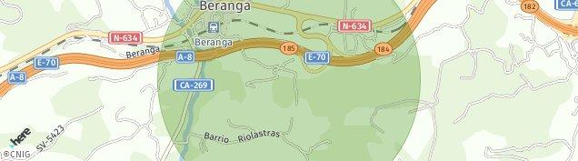 Mapa Beranga