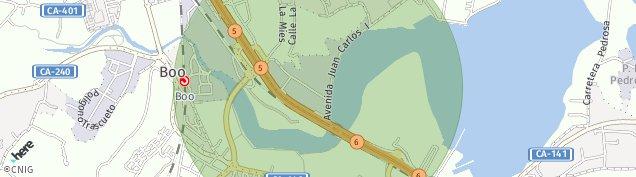 Mapa Boo de Guarnizo