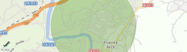 Mapa Puente Arce