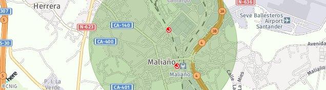 Mapa Maliaño