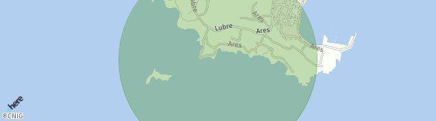 Mapa Ares