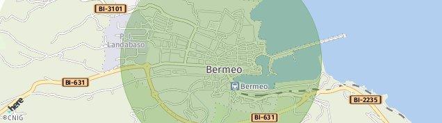 Mapa Bermeo