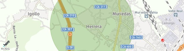 Mapa Muriedas