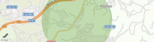 Mapa Boo de Pielagos