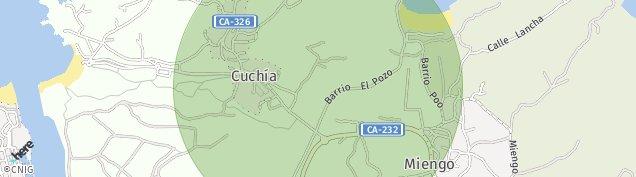 Mapa Cuchia