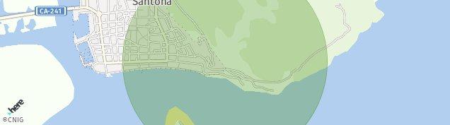 Mapa Santoña