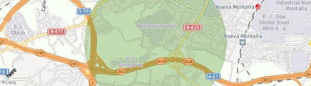Mapa Cacicedo