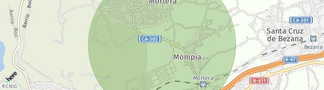 Mapa Mortera