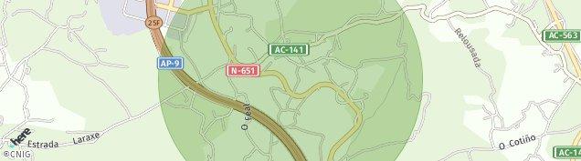 Mapa Laraxe