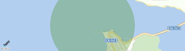 Mapa Pedreña