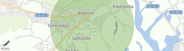 Mapa Argoños