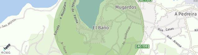 Mapa Mugardos