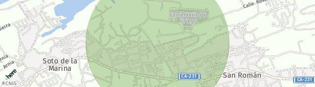 Mapa Sancibrian
