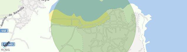 Mapa Noja