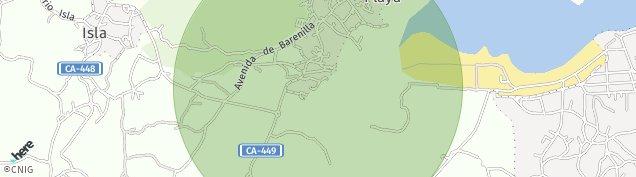Mapa Isla Playa