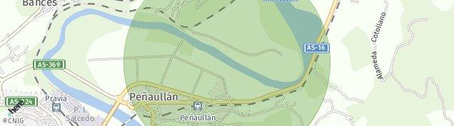 Mapa Pravia