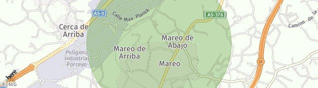 Mapa Porceyo
