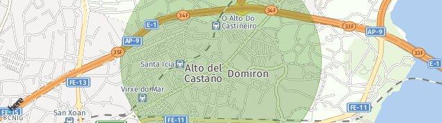 Mapa Narón