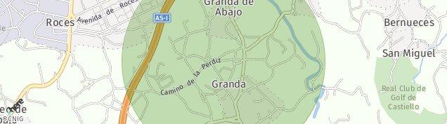 Mapa Granda