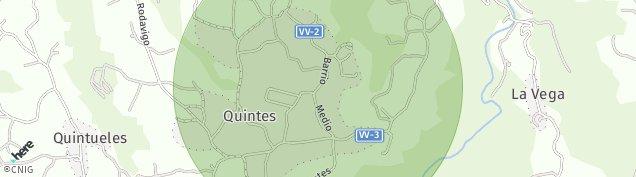 Mapa Quintes