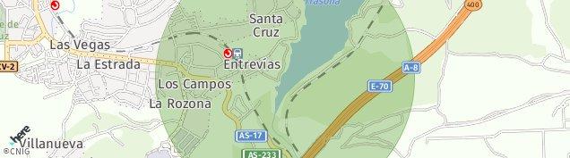 Mapa Avilés