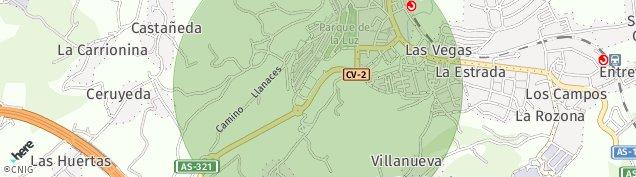 Mapa Ralla