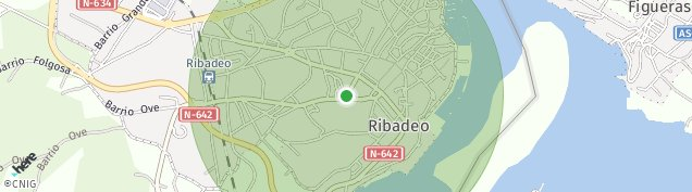 Mapa Ribadeo