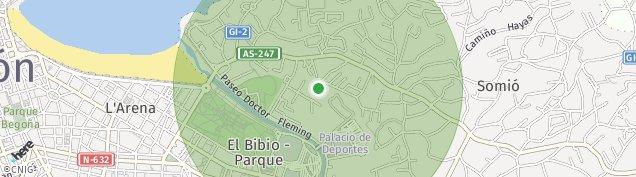 Mapa La Arena