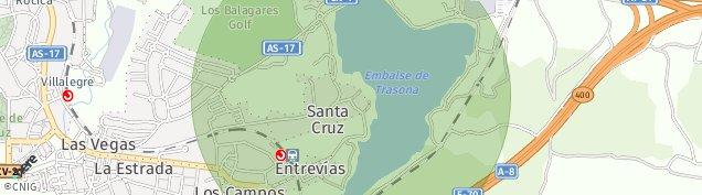 Mapa La Estrada