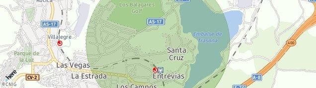 Mapa Los Campos