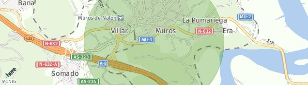 Mapa La Pumariega
