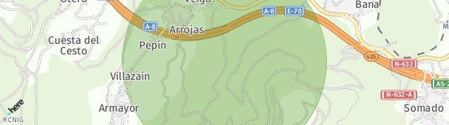 Mapa Veiga