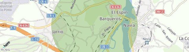 Mapa La Reguera