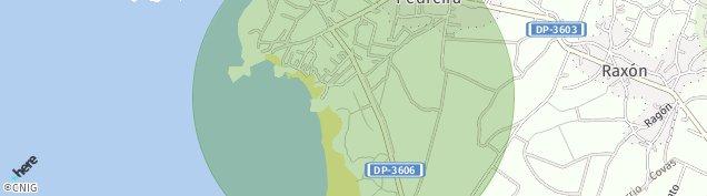 Mapa Covas de A Coruña