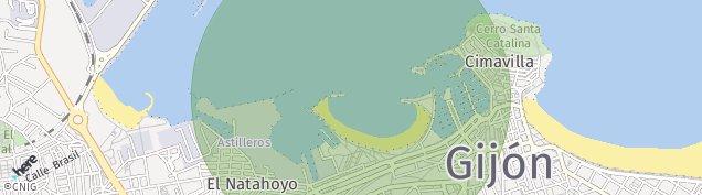 Mapa Gijón