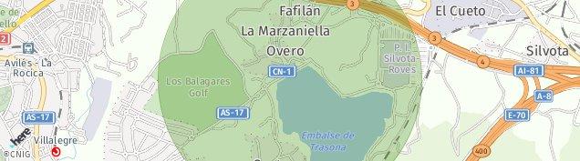 Mapa El Pedrero
