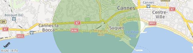 Carte de Cannes