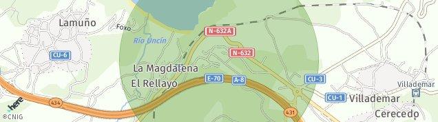 Mapa Lamuño