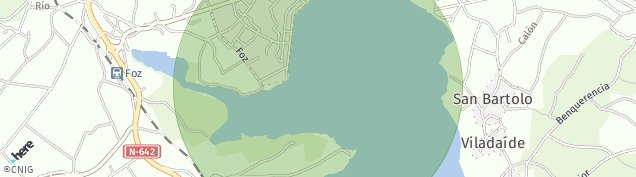 Mapa Foz
