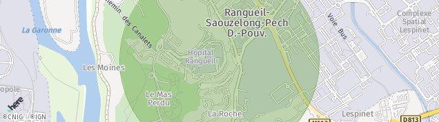 Carte de Ramonville-Saint-Agne