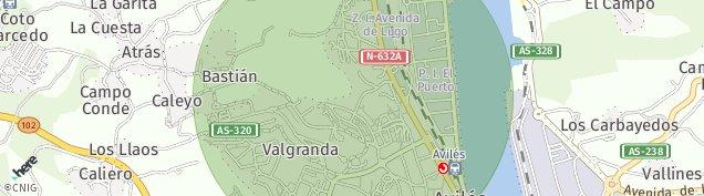 Mapa Valgranda