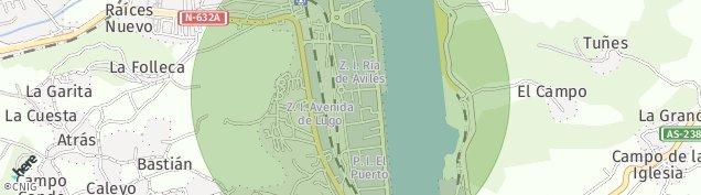 Mapa La Folleca