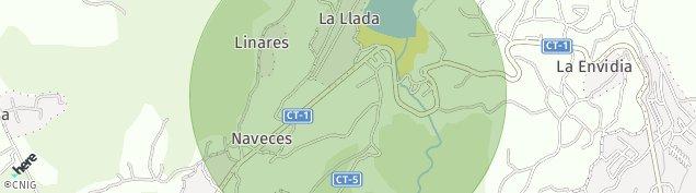 Mapa La Llada