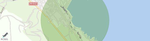 Mapa Burela
