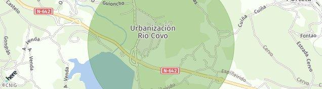 Mapa Rio Covo