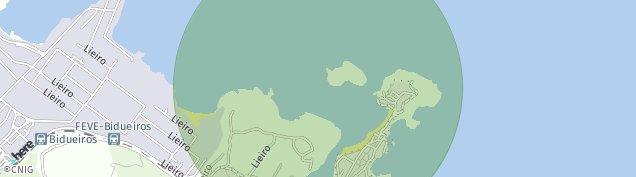 Mapa San Cibrao