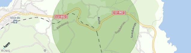 Mapa O Vicedo