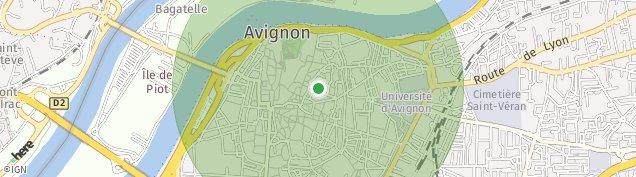 Carte de Avignon
